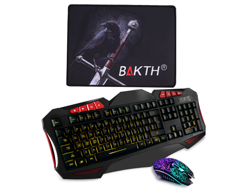 wired adjustable backlit keyboard and auto color backlit gaming mouse. Black Bedroom Furniture Sets. Home Design Ideas